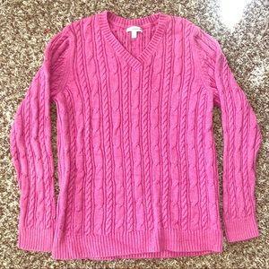 Croft & Barrow Cableknit Sweater